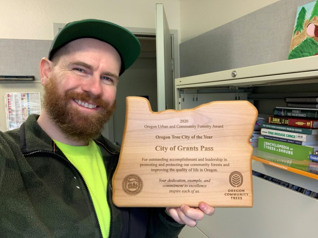 2020 OR Tree City of the Year, Grants Pass